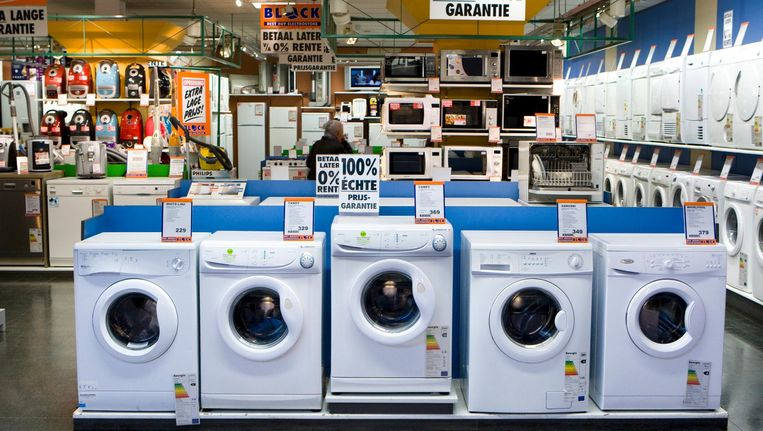 Cash back bij een wasmachine: het klinkt aantrekkelijk. Beeld anp