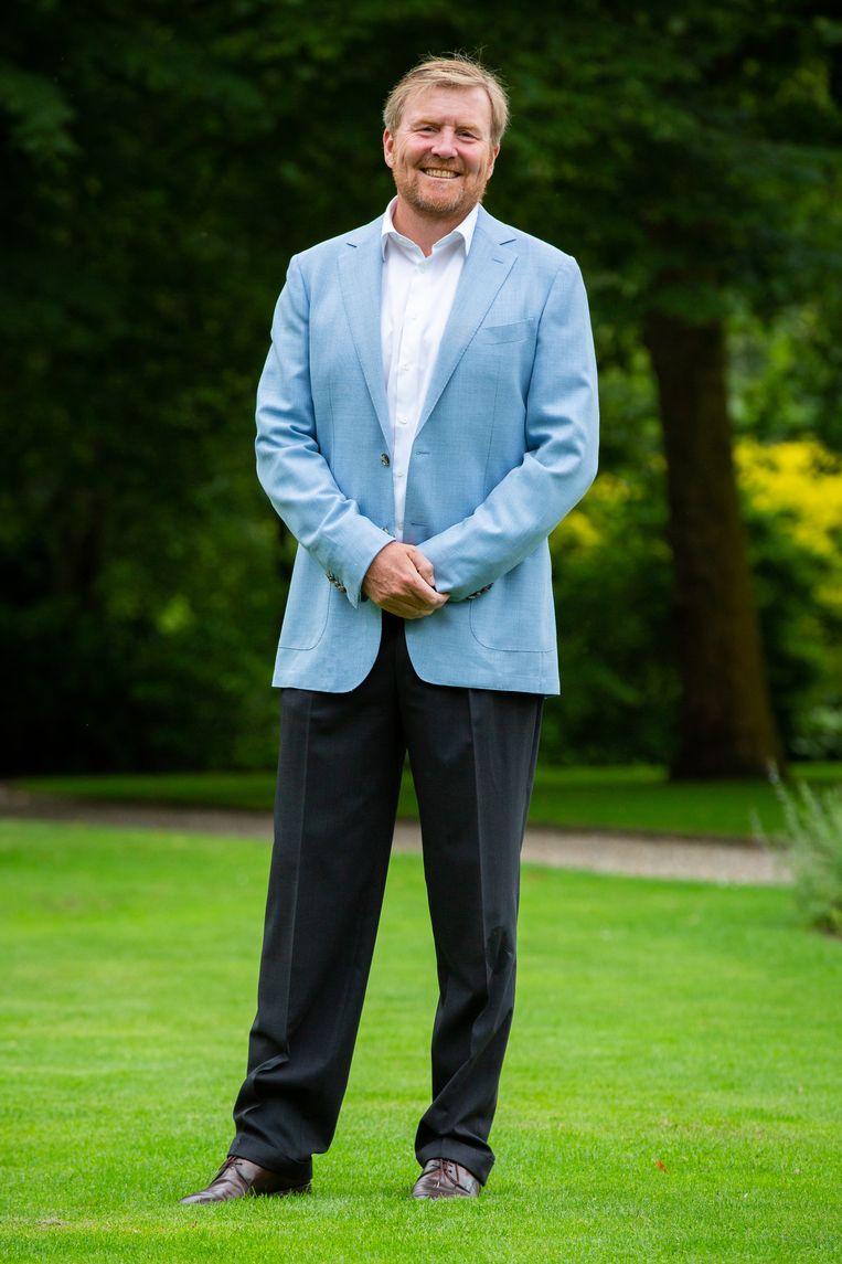 Koning Willem-Alexander, zomer 2020. Beeld Hollandse Hoogte / Wesley de Wit
