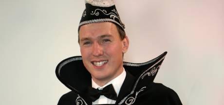 Prins Kevin d'n 1 prins bij de Peelpluimen in Helenaveen