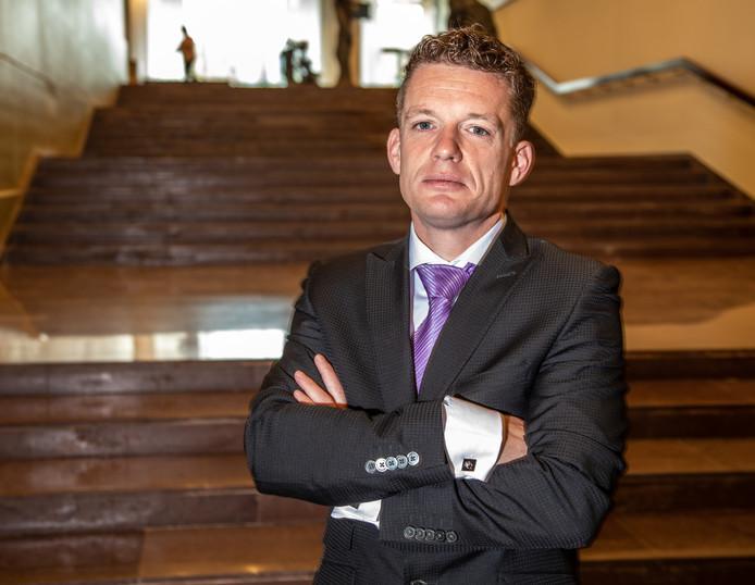 Johan Almekinders, leider van Forum voor Democratie