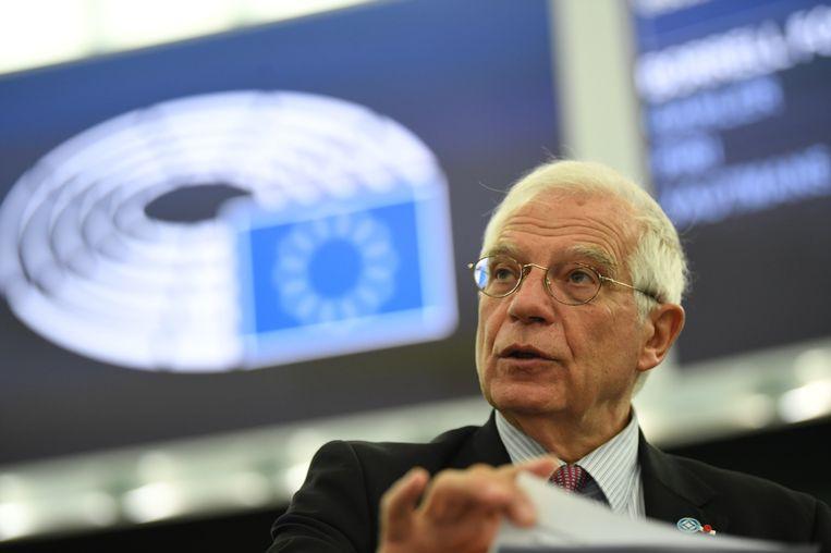 De Europese hoge vertegenwoordiger voor het buitenlands beleid Josep Borrell.