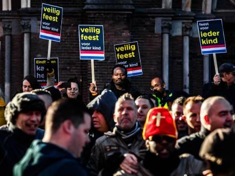 Actie tegen Zwarte Piet bij intocht in Dordrecht