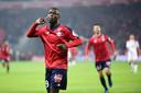 Nicolas Pépé heeft in Frankrijk al veel van zich laten horen bij Lille. De international van Ivoorkust is Arsenals duurste zomeraanwinst.