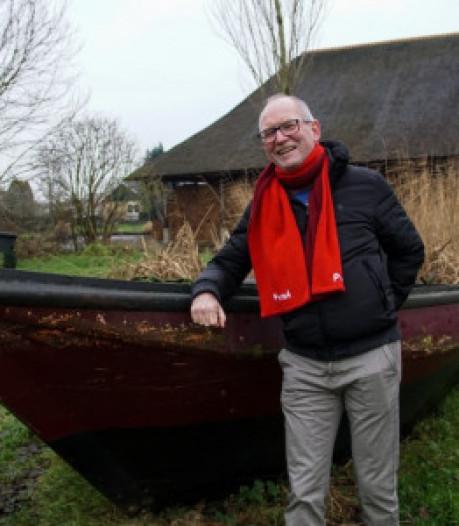Harrie Rietman blijft nog even aan als raadslid voor PvdA Zwartewaterland