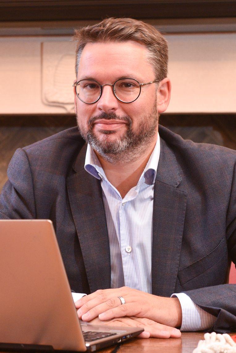 Joris Nachtergaele (N-VA), burgemeester van Maarkedal.