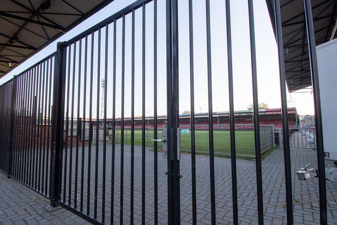 Stadion de Adelaarshorst is dicht.