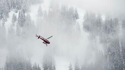 Doden en gewonden door lawine Zwitserland