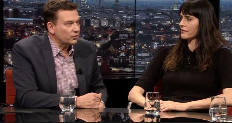 Jan Segers in 'De Afspraak'.