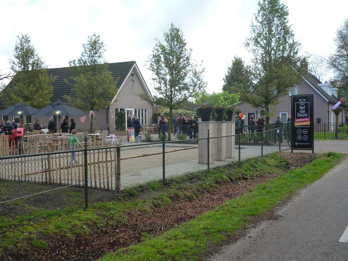 De net geopende Hof van Donzel in het buitengebied van Nistelrode