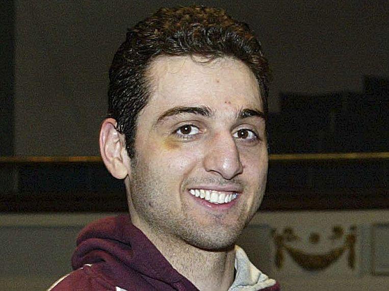 Tamerlan Tsarnajev, die werd doodgeschoten kort na de aanslag.