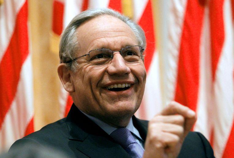 Bob Woodward, één van de journalisten die in 1972 het Watergate-schandaal onthulden. Beeld REUTERS