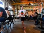 Door de Mac en politiebureau rennen: nieuwe 'run' in de binnenstad