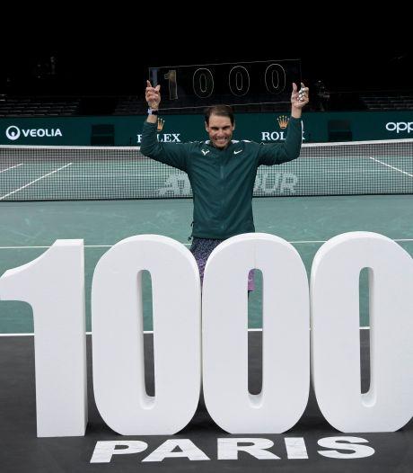 """1.000e victoire pour Nadal: """"Cela veut dire que je suis vieux"""""""