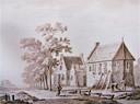 De kapel bij het Lazarushuis aan de Hogeweg.