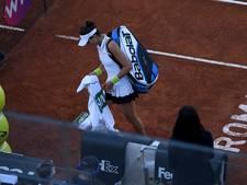 Svitolina naar finale in Rome na opgave Muguruza