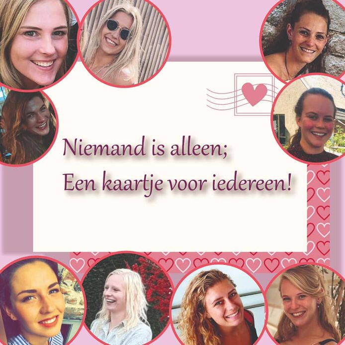 Een vriendinnengroep uit de omgeving van Twello en Klarenbeek is op Facebook een kaartjes-actie begonnen