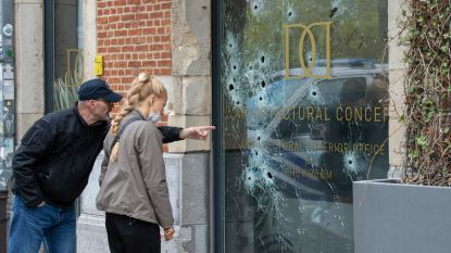 Moordbrigade neemt onderzoek naar beschoten vitrine van Antwerp-hooligan over
