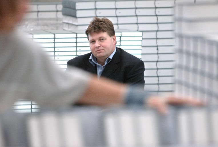 Ton den Boon, hoofdredacteur van woordenboek Van Dale. Beeld Marcel van den Bergh