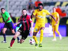 Bouwman scoort voor Ermis Aradippou, dat onderuit gaat tegen AEK Larnaca