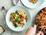 Wat Eten We Vandaag: Spaghetti met worst en aubergine