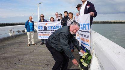 """Vzw Restart blijft positief over komst ferrylijn naar Oostende: """"Nog een beetje geduld"""""""
