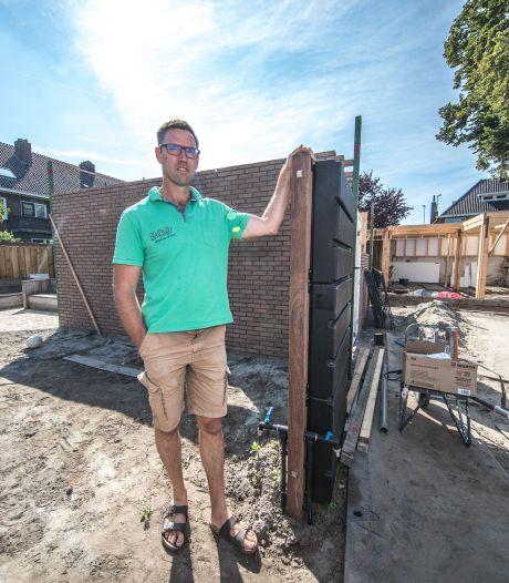 Geveltuintjes en klimaatkratten tegen wateroverlast en hitte in Zwolle