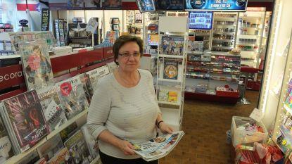 Dina De Lange (65) sluit na twintig jaar dagbladhandel op de Markt