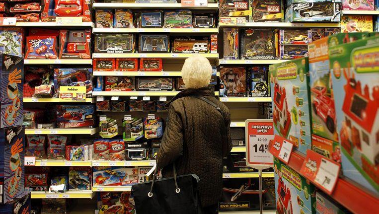 Speelgoed verkoopt nog prima, maar niet in de winkel. Beeld anp