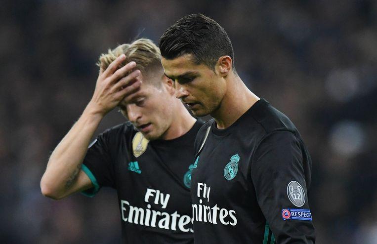 Kroos en Ronaldo druipen af na alweer een teleurstellend resultaat