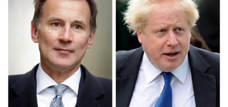 Brokkenpiloot Hunt neemt het op tegen Boris Johnson