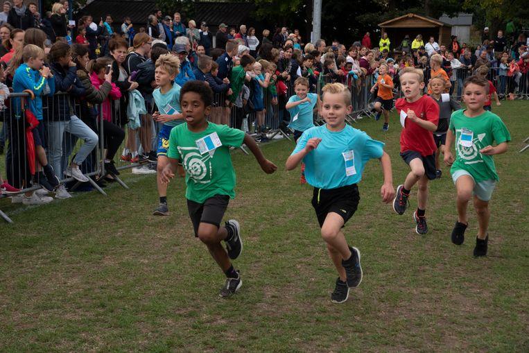 Scholenveldloop in De Warande in Wetteren.