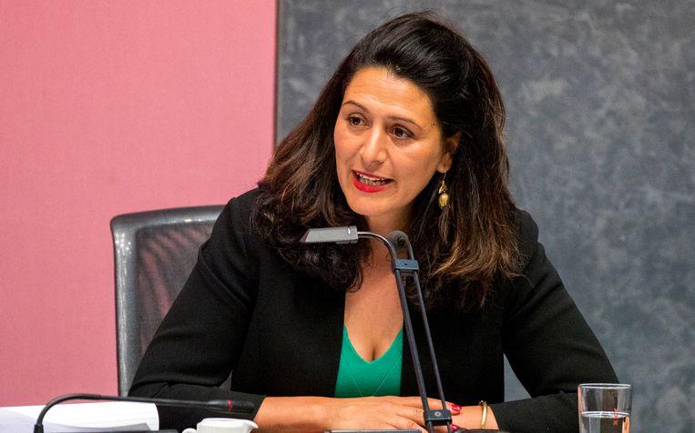 Touria Meliani van GroenLinks. Beeld ANP