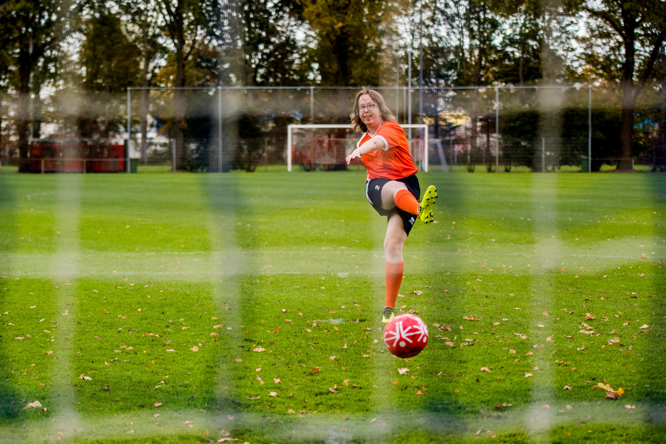 Suzanne van den Einden-Brok is aanvoerster van het Nederlandse team en ambassadeur van het toernooi.