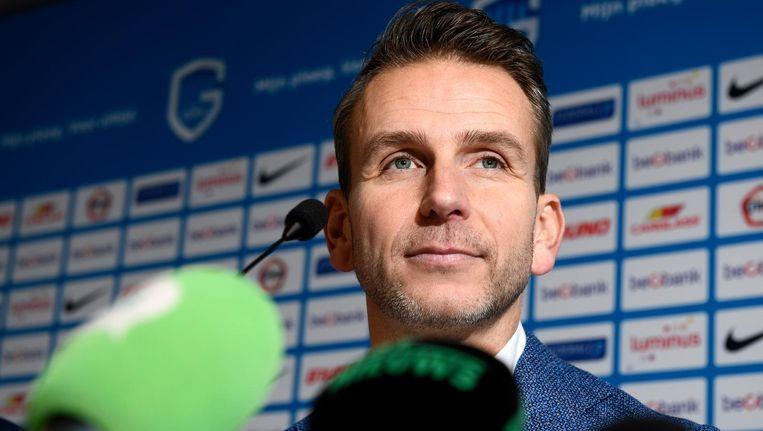 Albert Stuivenberg is de nieuwe trainer van KRC Genk. Beeld belga