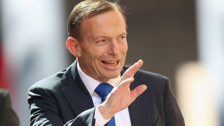 De Australische premier Tony Abbott. Beeld getty
