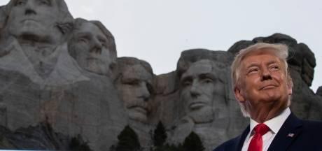 'Trump wil dolgraag in rijtje presidenten op Mount Rushmore'