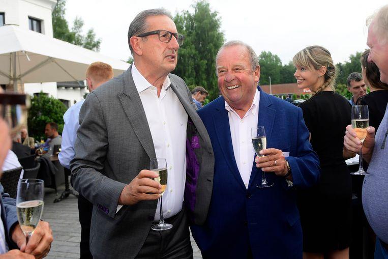 Michel D'Hooghe en Georges Leekens.