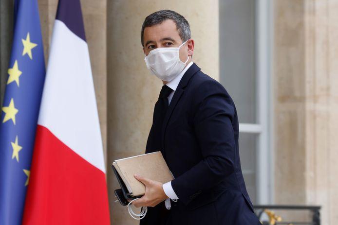 Le ministre français de l'Intérieur Gérald Darmanin