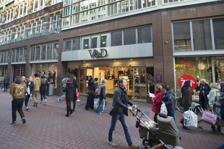 V&D-vestiging in Amsterdam. Beeld anp