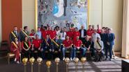 Spelers van BCO werden gevierd in het stadhuis