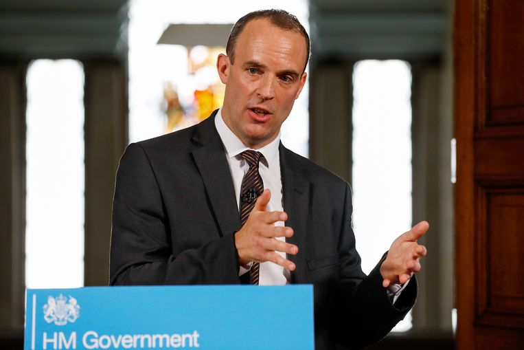 Brexit-minister Dominic Raab: