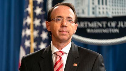 Republikeinen dienen resolutie in om justitieminister Rosenstein af te zetten