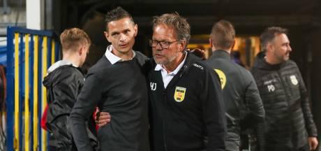 NEC-trainer Rogier Meijer baalt: 'Hij slaat die bal er gewoon in'