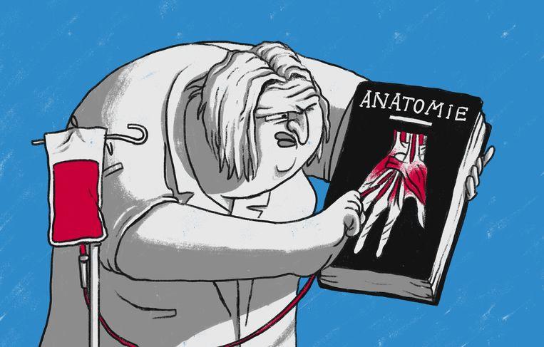 'Verpleegkundigen zijn geen 'lieve zusters', we hebben een vak' Beeld Matteo Bal