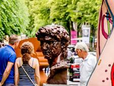 Bezielde sculptuur, maar ook een vormloze bolus bij Art in Oisterwijk