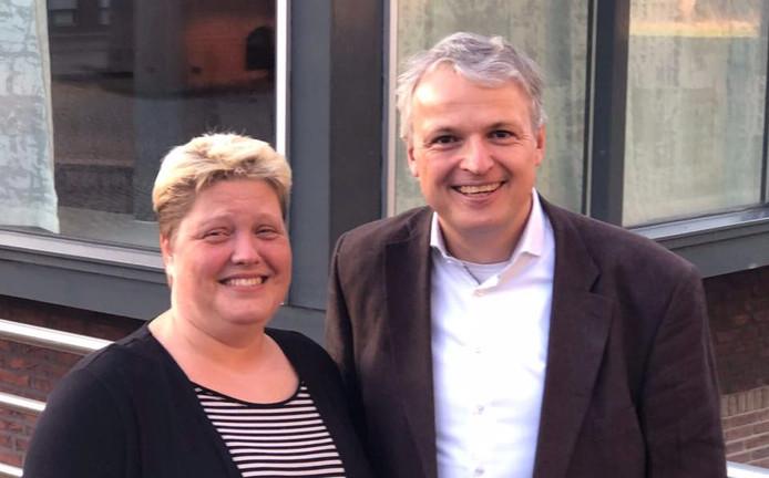 Miranda Verdouw en Maurits Habraken