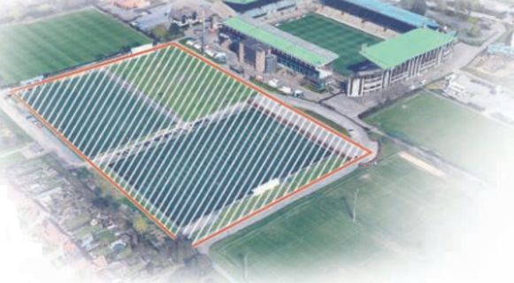 Het nieuwe stadion van Club moet naast het huidige Jan Breydel komen.