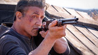 """INTERVIEW. Sylvester Stallone is terug met vijfde 'Rambo'-film: """"Zo vaak gewond dat ze ooit een ziekenhuisvleugel naar mij vernoemen"""""""