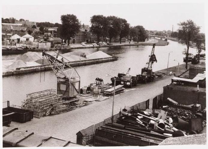 De Piushaven in de jaren '70. Foto Regionaal Archief Tilburg
