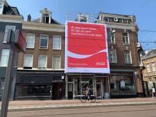 Coca-Cola verwijdert 'misplaatste' reclame in Zuid: 'Klap in gezicht Amsterdammer'